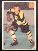 1954-55 DON CHERRY MINT PARKHURST RP 54-55 ROOKIE CARD RC #101