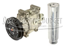 A/C Compressor w/Clutch Kubota *FREE DRIER* - SCSA06C 1GR 122mm 12v - REMAN