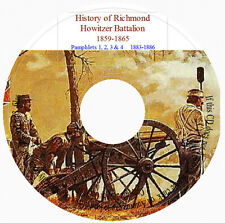 Richmond Howitzer Battalion History - 4 Volumes