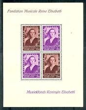Belgium #B199 Souvenir sheet, og Nh inclusion in mgn