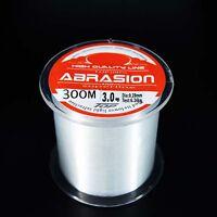 Abrasion Mono clear  fishing line 100M 300M 500M Monofilament All Size 2LB-25LB