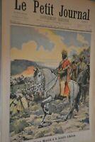 Le Petit Journal Supplémént illustré / 28 aout 1898 / Le Négus Ménélik