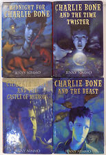 CHARLIE BONE LOT OF 4 HARDCOVERS-MIDNIGHT-TIME TWISTER-CASTLE OF MIRRORS-BEAST