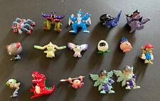 "Lot 16 Digimon Digital Monsters 2"" Bandai Mini Figures 97 00 2001 PVC Rare 1"""
