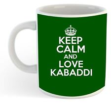 Keep Calm And Love Kabaddi Becher - grün