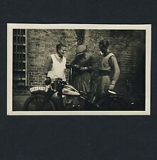 Stuttgart MOTORRAD OLDTIMER / MOTORBIKE * Vintage 30s Photo