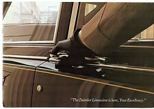 Daimler DS 420 Limousine 1972-77 UK Market Sales Brochure