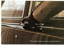 Daimler DS 420 Limousine 1972-77 UK Market Sales Brochure