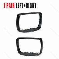 Fits For BMW X5 E53 Left + Right Door Wing  Mirror Cover Cap Trim Ring 2000-2006