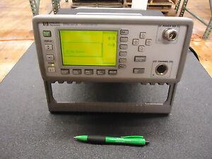 Hewlett Packard EPM-441A Power Meter.
