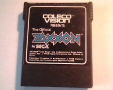 Coleco Vision Zaxxon by Sega 1982 Game Cartridge