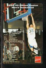 UMass-Boston Beacons--1998-99 Basketball Magnet Schedule