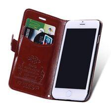 iPhone 6 Handy Hülle Tasche Farbe Dunkelbraun Luxus Case,Schutzhülle Cover, 703