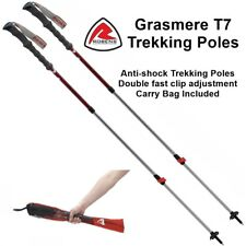 Robens Grasmere T7  Trekking Poles with Anti-Shock & Double Fast Clip Adjustment