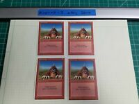 4x Burrowing | 4th Edition | MTG Magic The Gathering Cards