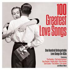 100 GREATEST LOVE SONGS (Various Artists) 4CD