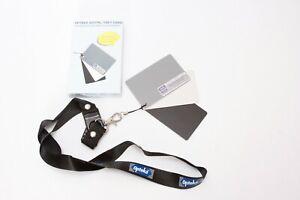Opteka Digital Grey Card - White Balance Card for Digital Photography