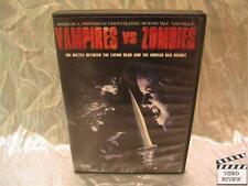 Vampires vs. Zombies (DVD, 2004)