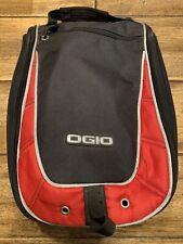 OGIO Shoester Golf Shoe Bag / Carrier / Case Red & Black with Divider Inside