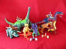 Lot of Imaginext Dinosaurs Triceratops Brontosaurus Trex Roaring w/ batteries