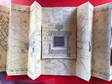 Mappa Del Malandrino replica 19x10x90 +biglietto Hogwarts express +biglietto bus
