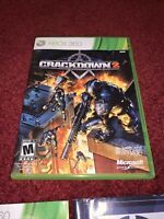 Crackdown 2 Microsoft Xbox 360 CIB Complete In Box & TESTED-Very Good Condition!