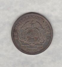 1897 SOUTH AFRICA KRUGER HALF CROWN IN NEAR MINT CONDITION