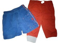 Toddler Boy Lot Bottom Clothes Size 12 Months