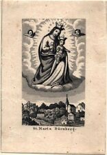 St. Maria Dürrnberg Wallfahrt Altes Heiligenbild PLZ 5400 Österreich (O-6991