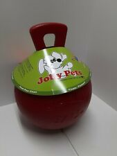 Jolly Pets 10-Inch Tug-n-Toss XL 2lb Red Dog - Animal Toy - Ball Safe Non Toxic