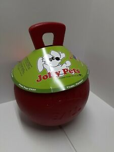 "Jolly Pets 10"" Tug-n-Toss XL 2lb Red Dog Animal Toy JollyBall Safe Non Toxic"