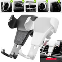 Auto Gravity Car Air Vent Mount Cradle Holder Stand For Mobile Phone GPS Useful