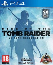 RISE OF THE TOMB RAIDER 20 ANIVERSARIO YEAR NUEVO PRECINTADO EN CASTELLANO PS4