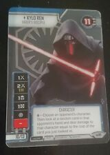 Kylo Ren official Galactic Qualifier Star Wars Destiny promo card
