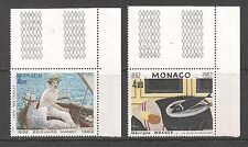 Monaco #1349-1350 (A396) VF MINT NH - 1982 4fr Paintings, Manet and Braque