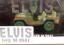 Greenlight 1/43 guerra fredda epoca US Army Jeep M-38a1 Elvis Presley con Verde