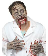 Halloween Fancy Dress Zombie Mask & Gloves Set New by Smiffys