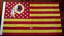 Washington Redskins 3x5 American Flag. US seller. Free shipping within the US