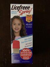 Licefreee Spray! Instant Head Lice Treatment Spray w/ Metal Comb 6 Fl Oz