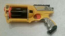 Yellow Nerf N-Strike Maverick Rev-6 Soft Foam Dart Toy Gun Dart Blaster - 2004