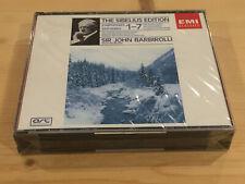 The Sibelius Edition Symphonies 1-7 BARBOROLLI ORIG EMI 5 CD BOX NEW SEALED