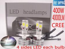 40000LM CREE LED Headlight Kit Car Light Bulb Lamp H4 H11 H7 H1 White 6000K 400W