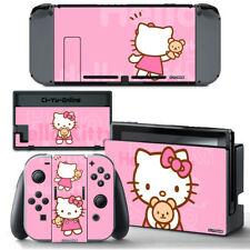 Ci-Yu-Online [NS] Hello Kitty Pink VINYL SKIN STICKER DECAL for Nintendo Switch