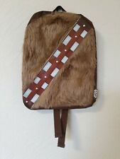 OFFICIAL STAR WARS CHEWBACCA  FURRY BACKPACK BAG RRP £25 BNWT