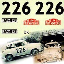Lloyd Alexander ts Rally de Monte Carlo 1959 #226 1:87 decal estampado