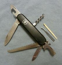 Victorinox 91mm Camper Swiss Army Knife, Black