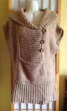 Free People Chunky Knit Sweater Sz L