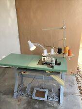 Venus Industrail Sewing Machine 2 Needle 5 Thread Mitsubishi Clutch Motor
