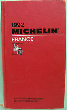GUIDE MICHELIN FRANCE 1992 EN BON ETAT