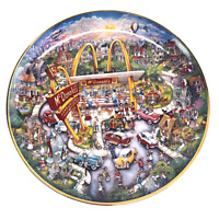 McDonalds Golden Moments Collector Plate Bill Bell Vintage The Franklin Mint 90s
